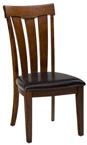 Slat Back Dining Chairs Plantation Upholstered Slat Back Chair Set Of 2 Dining Chairs
