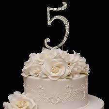 50th wedding anniversary cake toppers gold rhinestone number 50 50th anniversary birthday cake