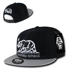 Black And White American Flag Bandana California Republic Hats Snapbacks Caps Beanies And More