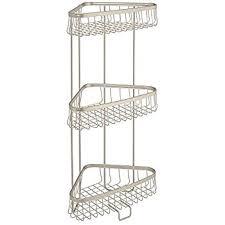 amazon com interdesign axis free standing bathroom or shower