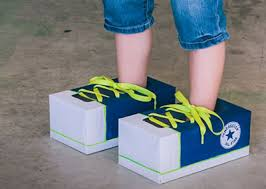 Kids Comfortable Shoes Tissue Box Tennies