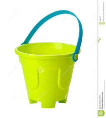 toy sand pail clipping path stock photos image 18883673
