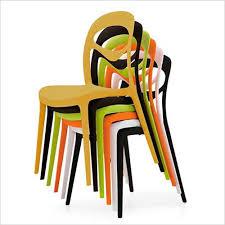 Stackable Outdoor Dining Chairs 4u Indoor Outdoor Side Chair Durable Plastic Stackable