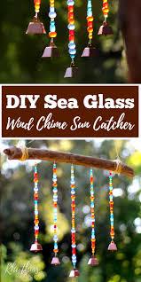 diy sea glass wind chime suncatcher rhythms of play