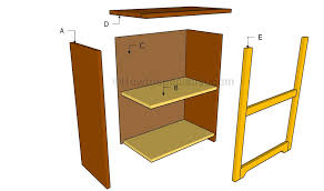 Simple Wood Bookshelf Designs by Simple Bookshelf Plans Howtospecialist How To Build Step By