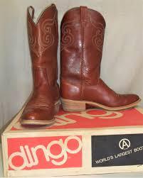 dingo boots s size 11 vintage acme dingo s cowboy leather boots size 10 1 2