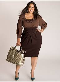 plus size clothing for office goers