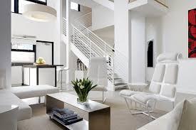 brightly interior design modern white colored theme home design