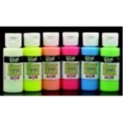 glow in paint glo it glow in the paint 1oz walmart