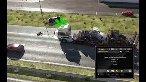 mod car game euro truck simulator 2 euro truck simulator 2 mod autostop car accident youtube