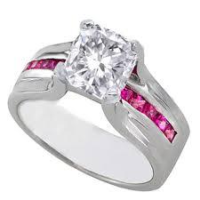 pink wedding rings pink diamond wedding rings for women rikof