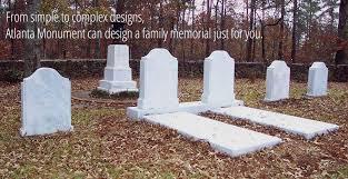 family memorials of canton wecome atlanta monument company