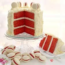 naturally red velvet cake with cream cheese frosting u2013 sugarywinzy