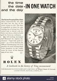 rolex ads original vintage advert from 1960s advertisement dated 1960 stock