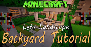 minecraft tutorial landscaping ep 2 youtube
