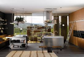 Aluminium Kitchen Designs Simple Kitchen With Aluminium Furniture Design For Small Space By