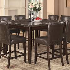 dining room counter height table sets with round pub tables and