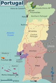 Portugal World Map by Portugal U2013 Travel Guide At Wikivoyage