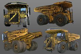 dump truck dump truck 3d asset cgtrader