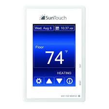 suntouch floor warming sunstat command programmable floor heating