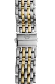 deco 16 two tone 18 michele deco 16 16mm two tone bracelet watchband places to