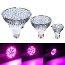 Full Spectrum Led Grow Lights E27 Led Grow Light Bulb Full Spectrum Comes In 30w 50w 80w