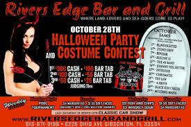 rivers edge bar halloween party u0026 contest born to ride