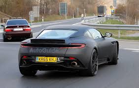 aston martin vanquish matte black aston martin db11 s spied looking fierce autoguide com news