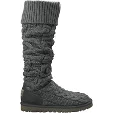 twisted boots womens australia ugg the knee twisted cable boots 249 99 free shipping