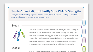 printable organization quiz for students printable activity to identify your child s strengths
