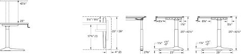Computer Desk Height by Popular Of Woodwork Standard Computer Desk Dimensions Pdf Plans