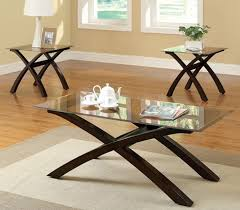 coffee table amazing glass coffee table set ideas stunning brown