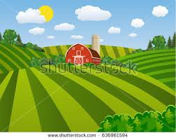 A Cartoon Barn Hand Drawn Red Barn Vector Download Free Vector Art Stock