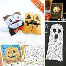 25 free halloween printables kids