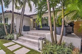 Exterior Tiles For Patios Contemporary Patio With Fence U0026 Exterior Tile Floors In Miami Fl