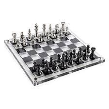 Futuristic Chess Set Acrylic Chess Set Host U0026 Hostess Gifts Gifts Z Gallerie