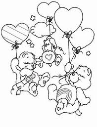 care bears coloring pages print free printable care bear 09