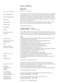 Administration Sample Resume by Payroll Administration Sample Resume 5 Payroll Specialist Resume