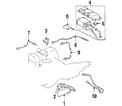 lexus is300 parts diagram parts com lexus sensor oxygen partnumber 8946553190