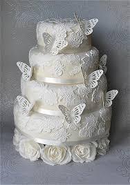 hochzeitstorte schmetterling fondant kuchen butterfly lace hochzeitstorte 1914898 weddbook