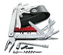 Victorinox Kitchen Knives Set Swisstool Cs Plus In Silver 3 0338 L