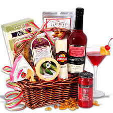 martini gift basket shop online at gourmetgiftbaskets chalifour flowers and