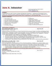 free sample resume for nurses sample resume nursing student no