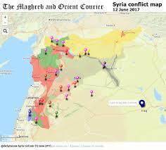 Syria Map Location by Agathocle Desyracuse On Twitter