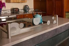 stove splash guard contemporary kitchen in salem green sleek by salem home