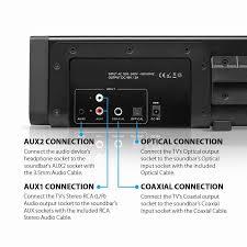 rca home theater 1000 watts new bluetooth soundbar speaker for tv 60 watt sound bar suppor aux