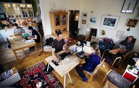 swedish freelancers transform homes into co working spaces