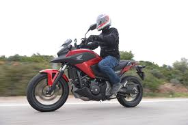 first ride honda nc750x review visordown