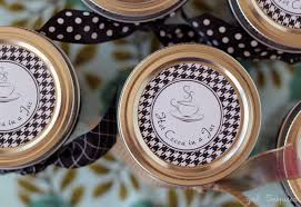 cocoa printable labels inspired