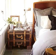 Trunk Bedside Table by Decorating With Louis Vuitton Trunks Song Of Style